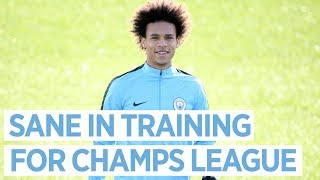 CHAMPIONS LEAGUE PREPARATIONS | Training to take on Basel |