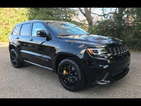 2018 jeep grand cherokee srt trackhawk walk around video. Black Bedroom Furniture Sets. Home Design Ideas
