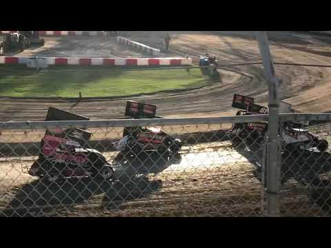 Delta Speedway 8/31/19 Jr Sprint Heat 2A- Cash