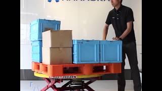パレットレベラー PAL360(short)|パレット専用腰痛対策機器