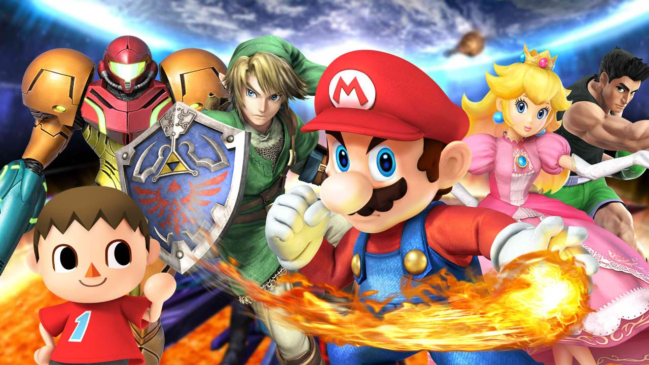 Super Smash Bros 3DS (UPDATE 1 1 7+DLC) (Region Free) (US) [CIA] [MF