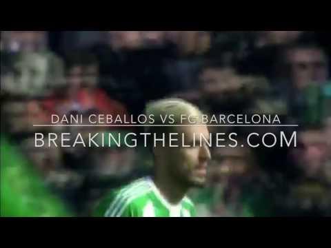 Dani Ceballos Vs Barcelona