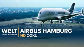 Aircraft construction at AIRBUS Hamburg - BELUGA, A380 & co | documentary