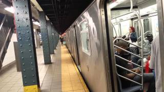 IRT Lexington Avenue Line: Downtown & Uptown R142/A & R62A (4) (5) (6) Trains @ 125 Street