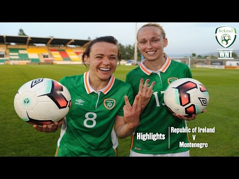 Republic of Ireland WNT secured a new home record win against Montenegro.