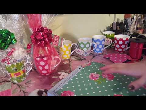 Gift wrapping mugs - Adults & Children inc Christmas eve Ide