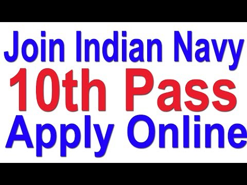 How To Join Indian Navy 10th Pass   Apply Online Now   Full Tutorial