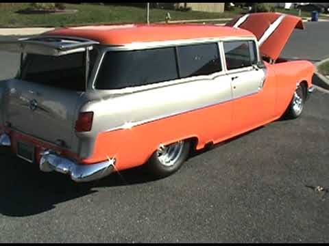 1955 pontiac chieftain sold youtube. Black Bedroom Furniture Sets. Home Design Ideas