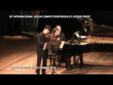 Daichi Nakamura & Evgueni Sinaiski   Schumann Sonata No.1 for Violin and Piano a-moll op.105