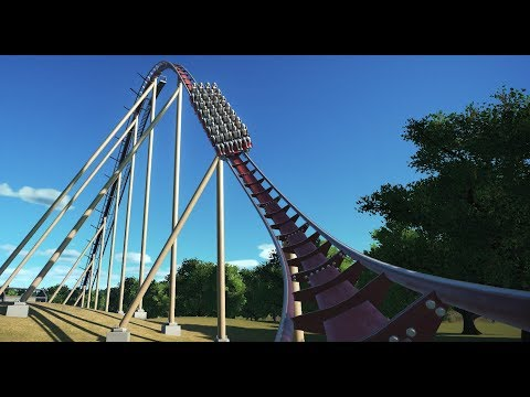 Making the SMOOTHEST B&M Floorless Coaster in Planet Coaster |