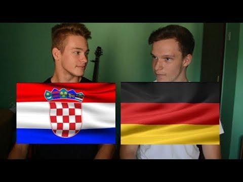 LANGUAGE CHALLENGE / CROATIA VS GERMANY
