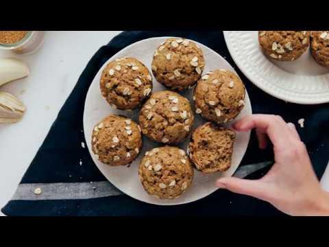Maple-Sweetened Banana Muffins
