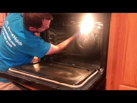 Step By Step Oven Cleaning