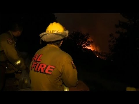 Fires rage on in California
