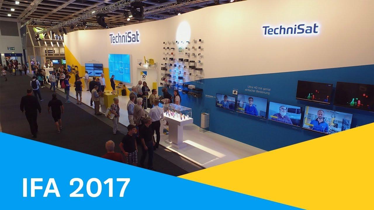 Video: IFA 2017 | TECHNIVISTA SL - Der neue UHD-Fernseher mit Soundleiste. | TechniSat