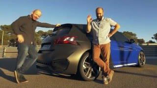Peugeot 308 R HYbrid - first drive  garaz.tv