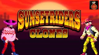 COPIAS y CLONES en los videojuegos - SUNSET RIDERS