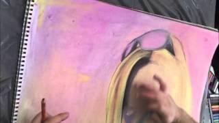 soft pastels work pop art (marinka)