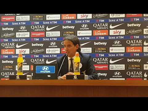 Conferenza Inzaghi post Roma: