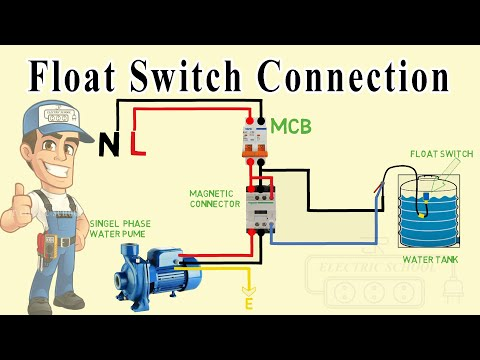 float switch wiring diagram for water pump - YouTubeYouTube
