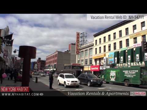 Harlem, New York City- video tour of a vacation rental on East 128th Street & 5th Avenue