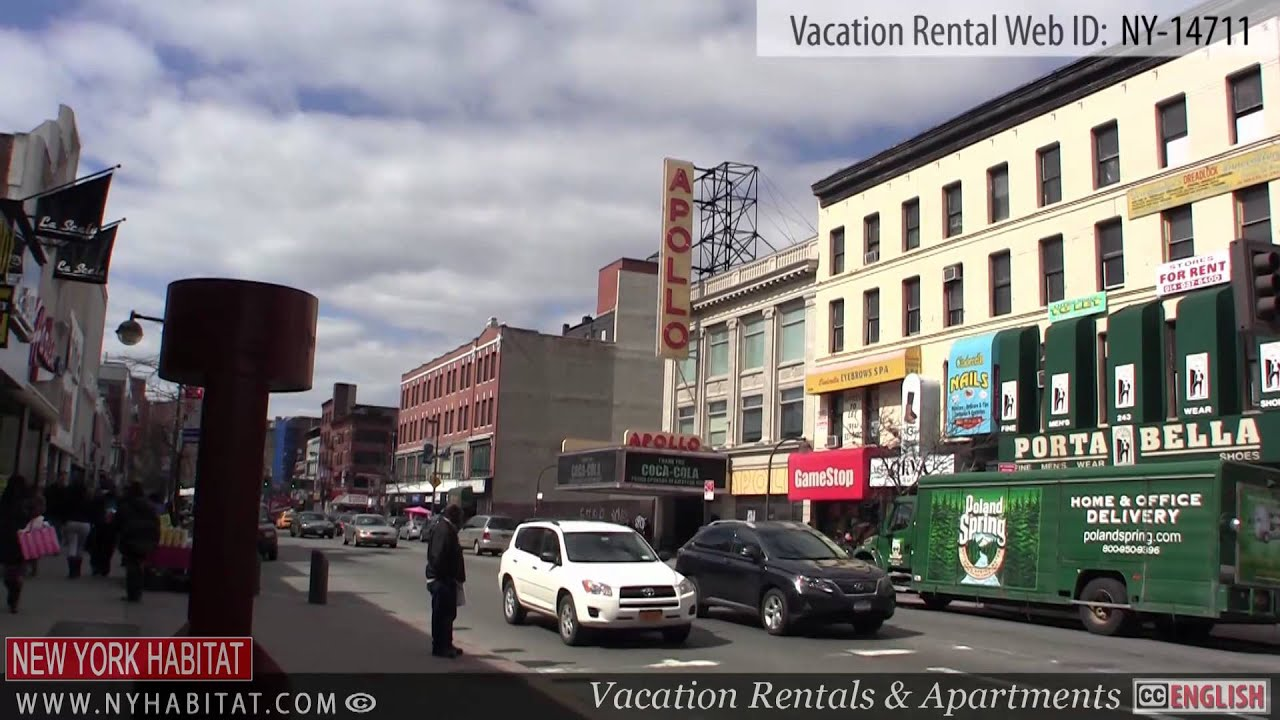 harlem new york city video tour of a vacation rental on east