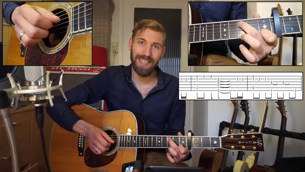 Coldplay Everglow Guitar Lesson Video Tutorial How To Play