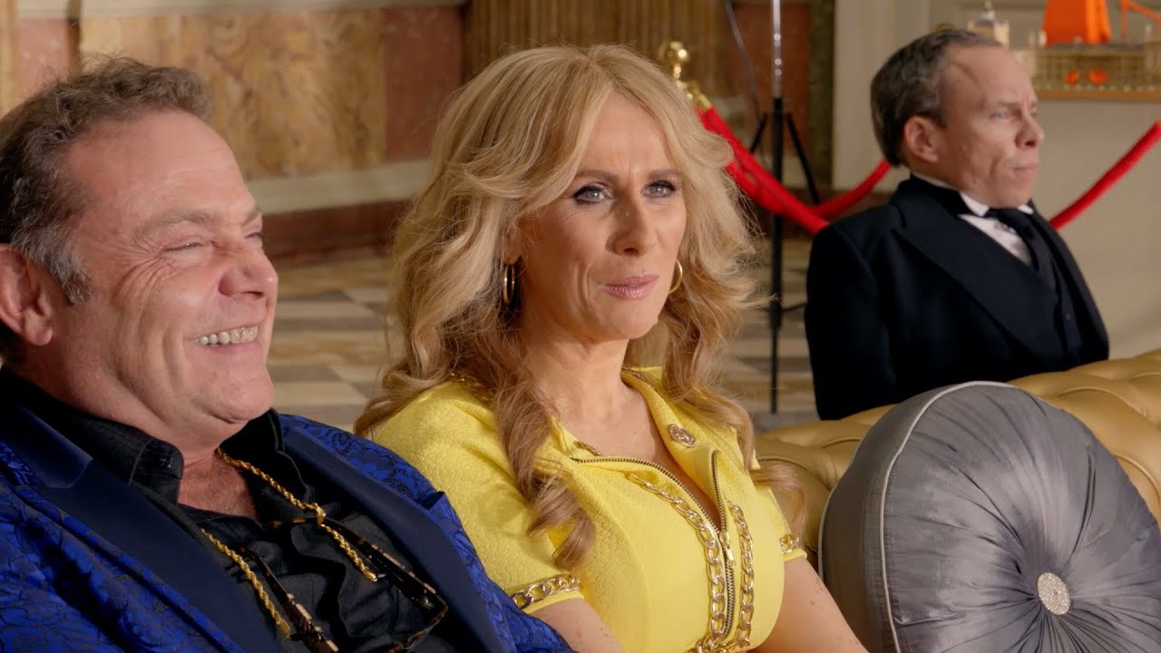 Sapphire arrives for her lunch date with Len - Billionaire Boy: Preview - BBC One Christmas 2015