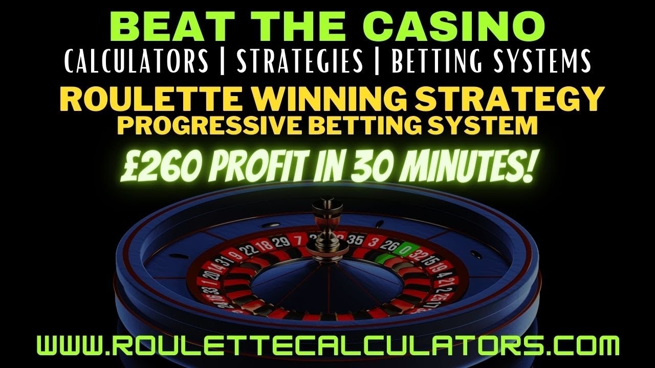 Progressive betting on roulette betting sites with virtual football trainer