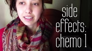 Bad Side Effects After First Chemo | Hodgkin