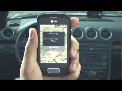 LG Optimus One P 500 Navigation