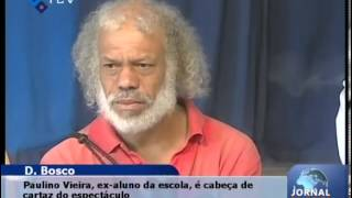 PAULINO VIEIRA, ANTIGO ALUNO DA ESCOLA SALESIANA-MINDELO.