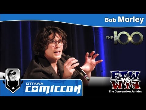 The 100 - Bob Morley (Bellamy Blake) - Ottawa ComicCon - Panel