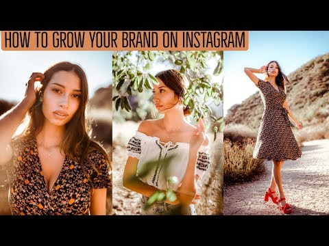 How to GROW YOUR BRAND on Instagram