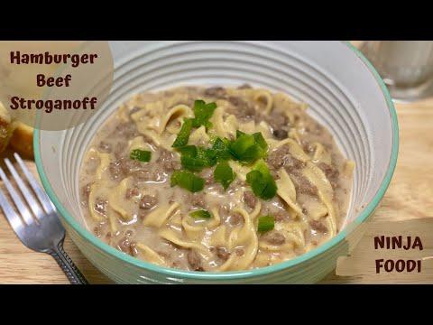 Ninja Foodi – HAMBURGER BEEF STROGANOFF