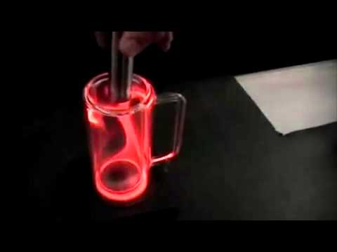 Plasma Magnetic Confinement In Glass