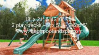 Highlander Swing Set Playground Playscape - Ready To Assembl thumbnail