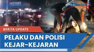 Bak Film Action, Video Detik-detik Penangkapan Bandar Narkoba, Pelaku dan Polisi Kejar-kejaran Mobil
