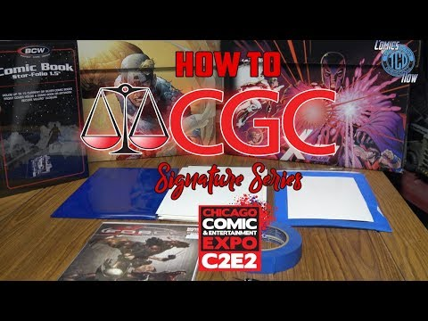 How To Get ready for CGC Signiture Series @ C2E2 2019
