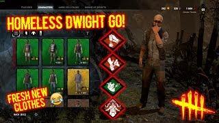 Homeless Dwight GO! - Dweard Survivor - Dead By Daylight