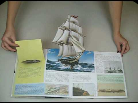 The Pop-Up Book of Ships: A Maritime History