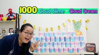 RESTOCK 1000 HŨ SLIME MÂY & CLOUD CREAM   KHAI TRƯƠNG CÀ CHUA GARDEN