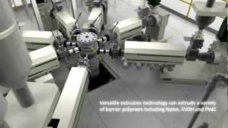 Double-Bubble Barrier Film Extrusion Line.mp4 Thumbnail