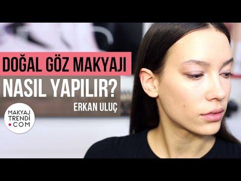 Doğal Göz Makyajı Nasıl Yapılır?  Erkan Uluç