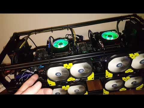 4 X AMD 3900X RandomX Monero Miner Online