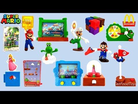 2018 Mcdonald S Super Mario Odyssey Happy Meal Toys Usa
