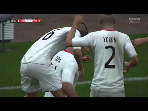 FIFA 16 - CAREER MODE - Peru Vs Mexico
