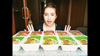 10 Дошираков за раз|  10* SPICY NOODLES | Eeating show | 먹방