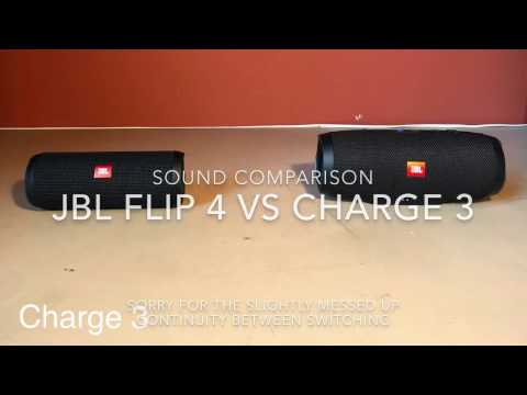 Flip 4 VS Charge 3 Sound Comparison