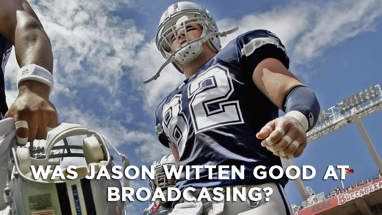8efbe5f1f8d Let's discuss why Jason Witten left broadcasting - YouTube